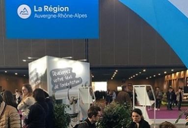 Découvrez les animations du stand Région Auvergne Rhône-Alpes !