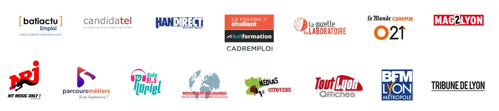 Logos partenaires MDM24