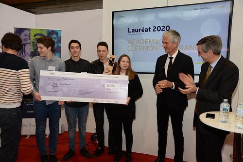 Lycée Jean Monnet_Académie de Clermont_concours créateurs d'idées 2020