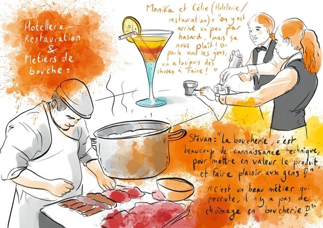 Hôtellerie-restauration et métiers de bouche by Anne Bernardi au MDM2020