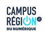 Logo Campus Region CMJN BleuGris