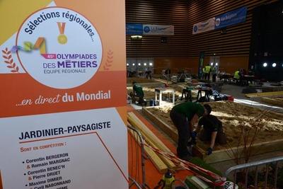 Sélections régionales jardiniers-paysagistes 45es Olympiades des Métiers 4