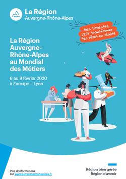 Stand Région Auvergne-Rhône-Alpes