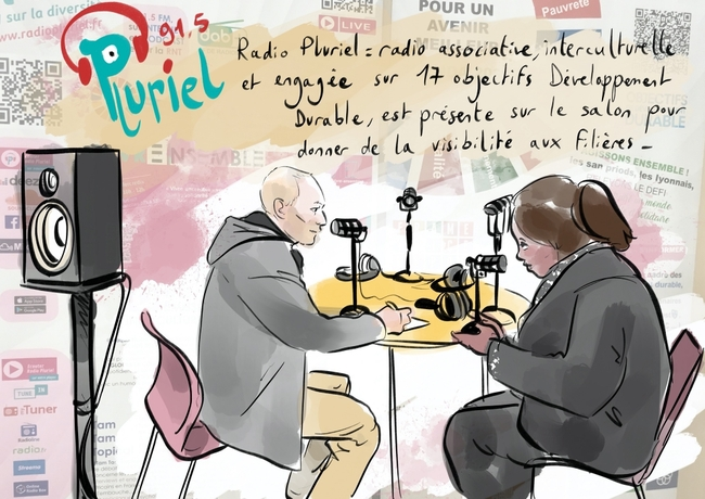 Studio radio by Anne Bernardi au MDM2020
