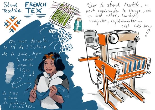 Textile by Anne Bernardi au MDM2020