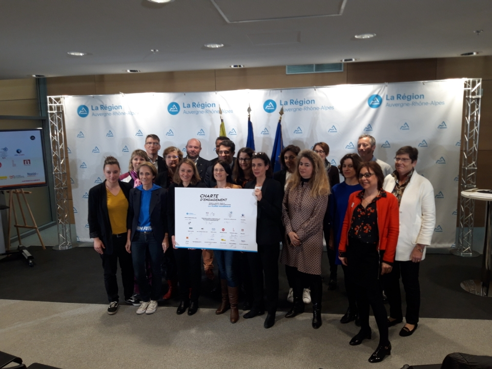 La Région Auvergne-Rhône-Alpes s'engage pour plus de mixité dans les métiers du numérique