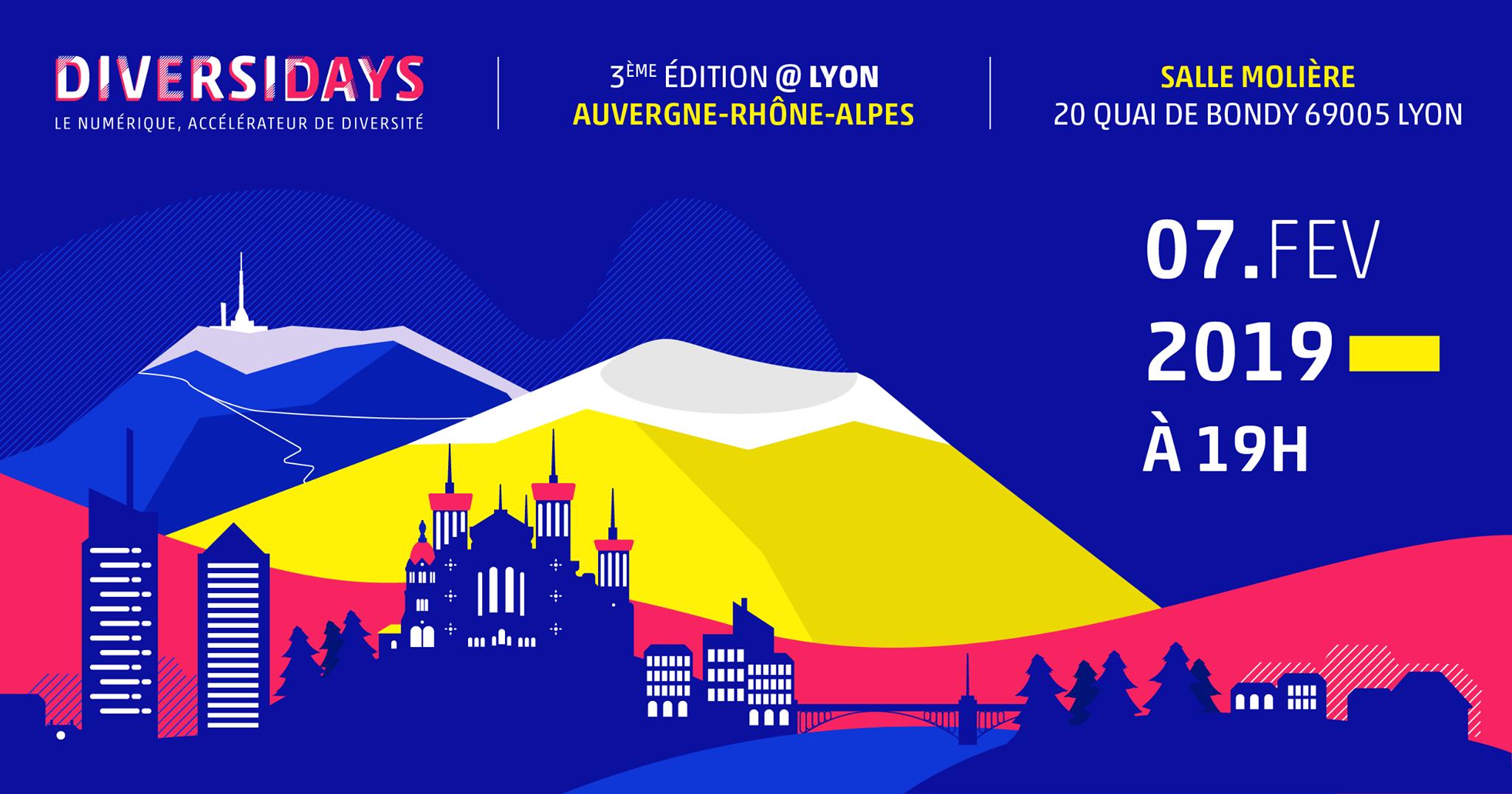 Diversidays, le 7 février à 19h à Lyon