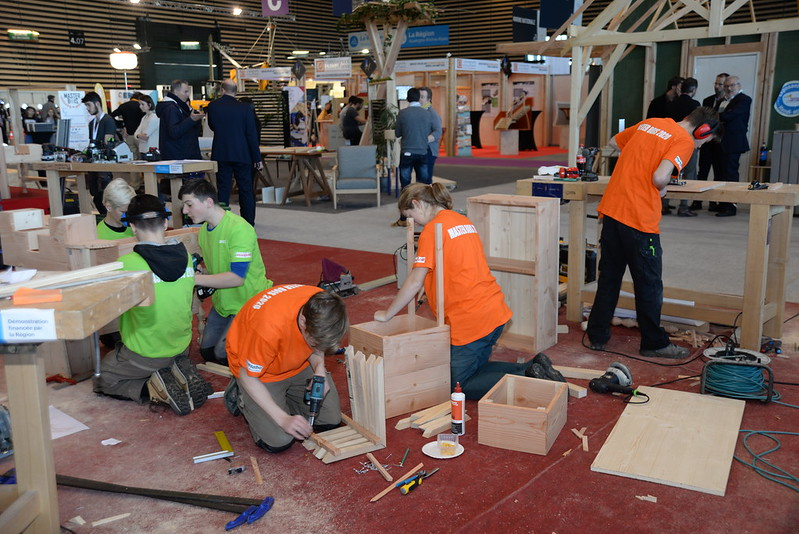 Retour sur les concours du bois au 24e Mondial des Métiers !