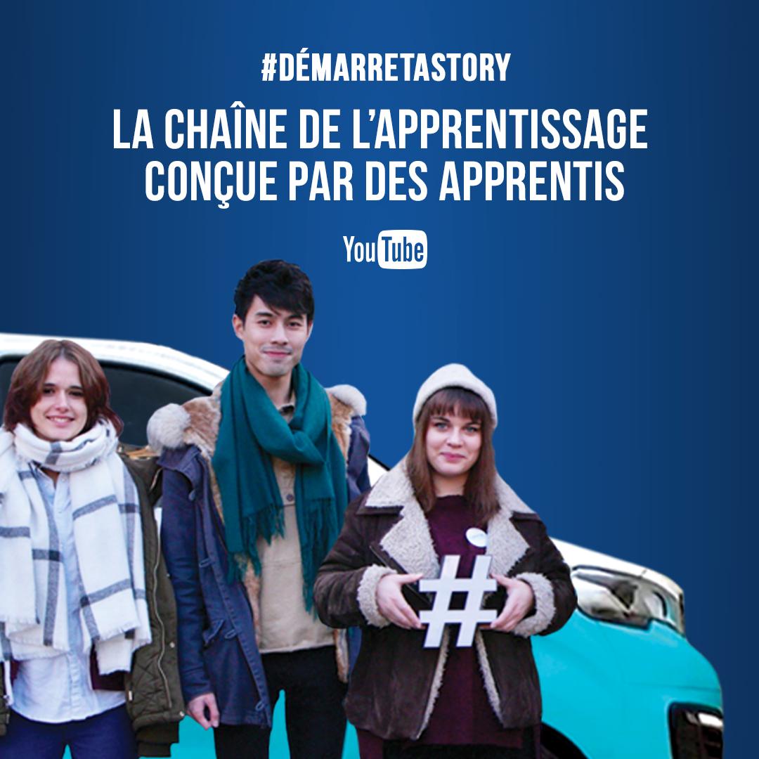 #DémarreTaStory : la web série sur l'apprentissage !
