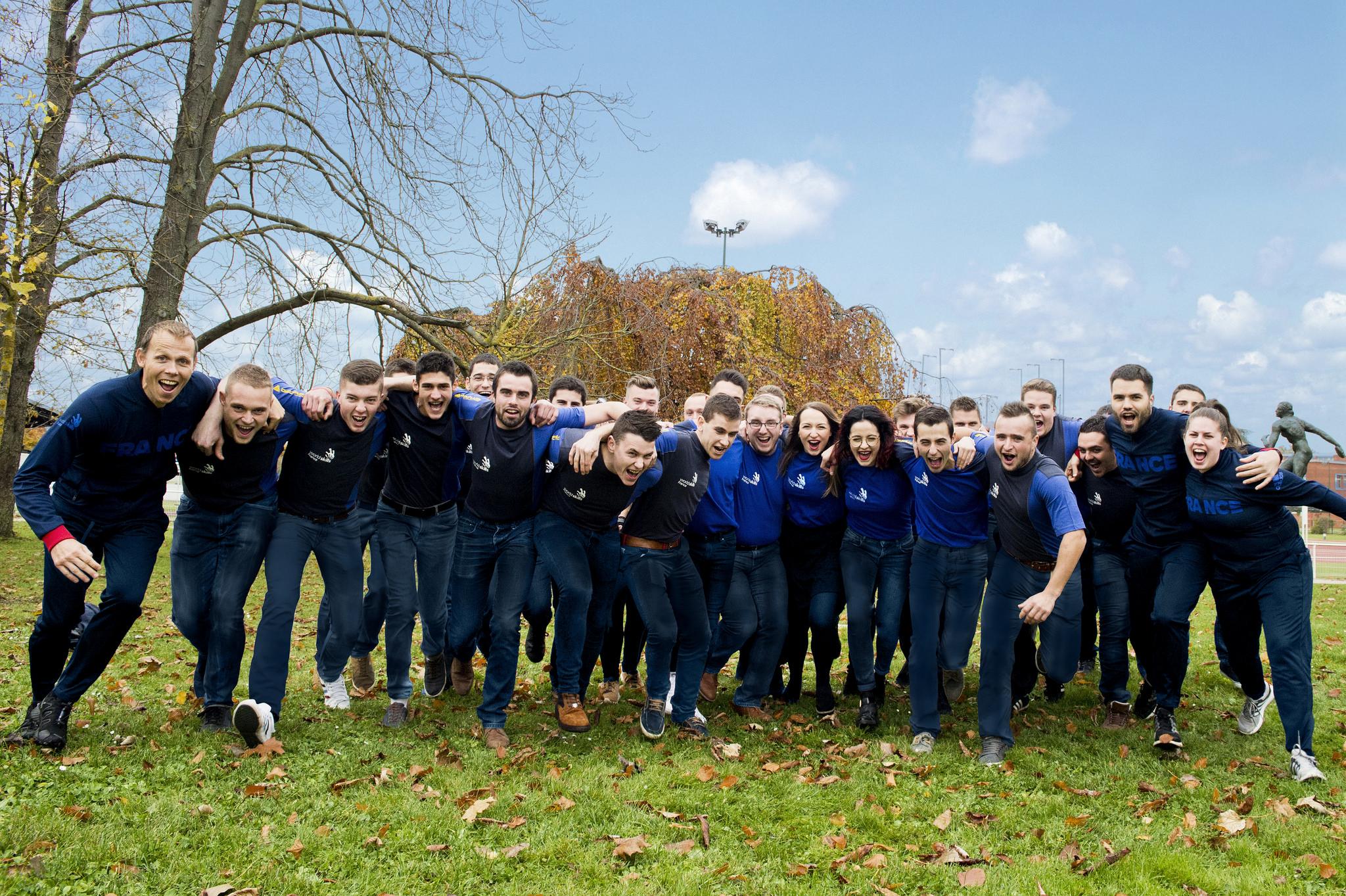 EuroSkills Budapest 2018 : les visages de l'Équipe de France des Métiers dévoilés !