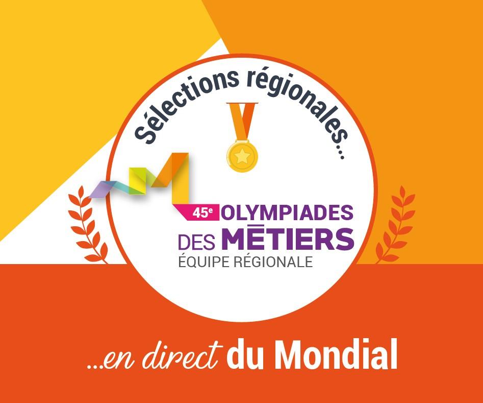 Félicitations aux candidat.e.s sélectionné.e.s lors des épreuves régionales organisées au Mondial des Métiers