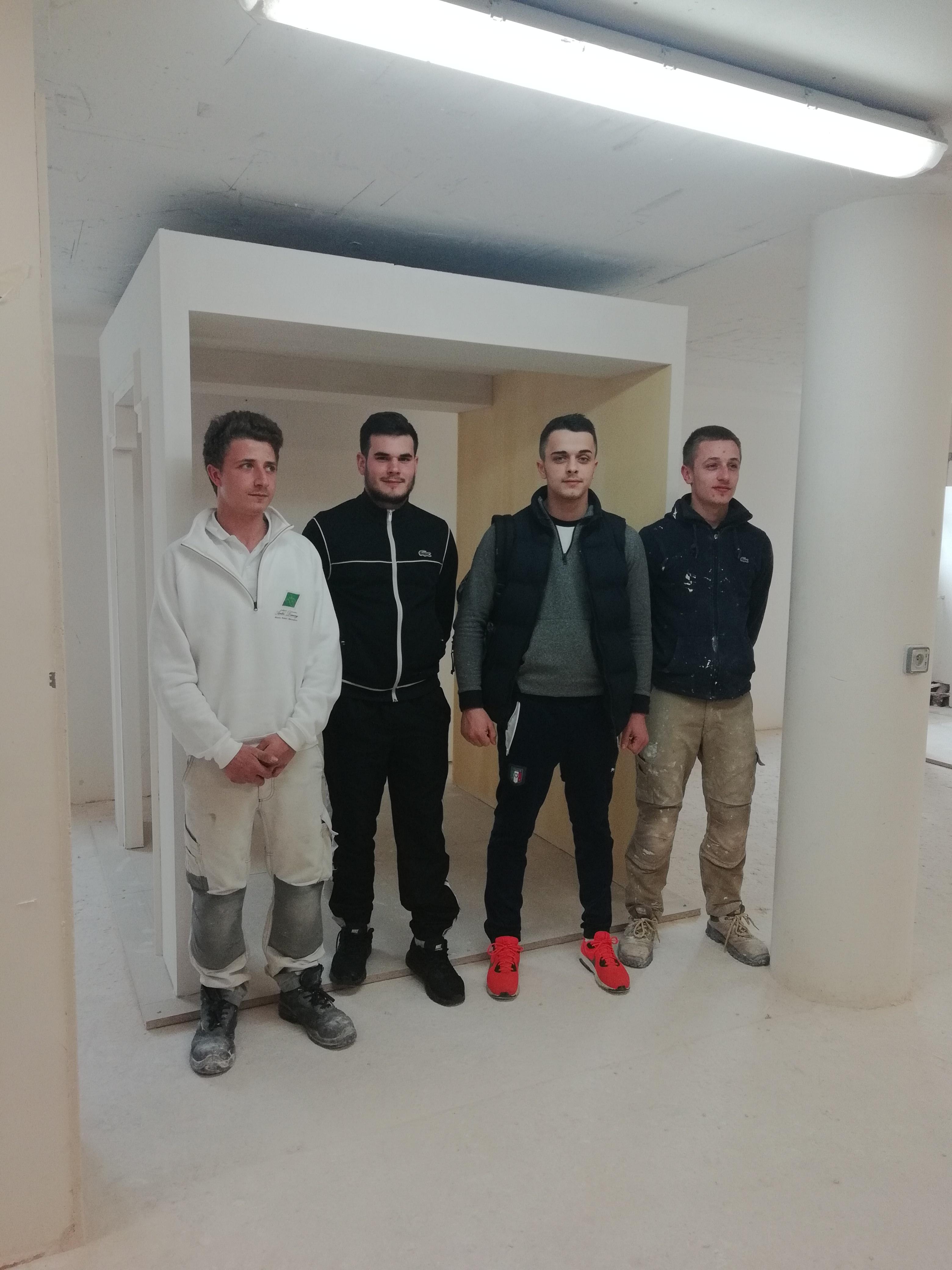 Dimitri VERNIER, candidat en Plâtrerie et constructions sèches, rejoint l'équipe régionale des 45es Olympiades des Métiers !