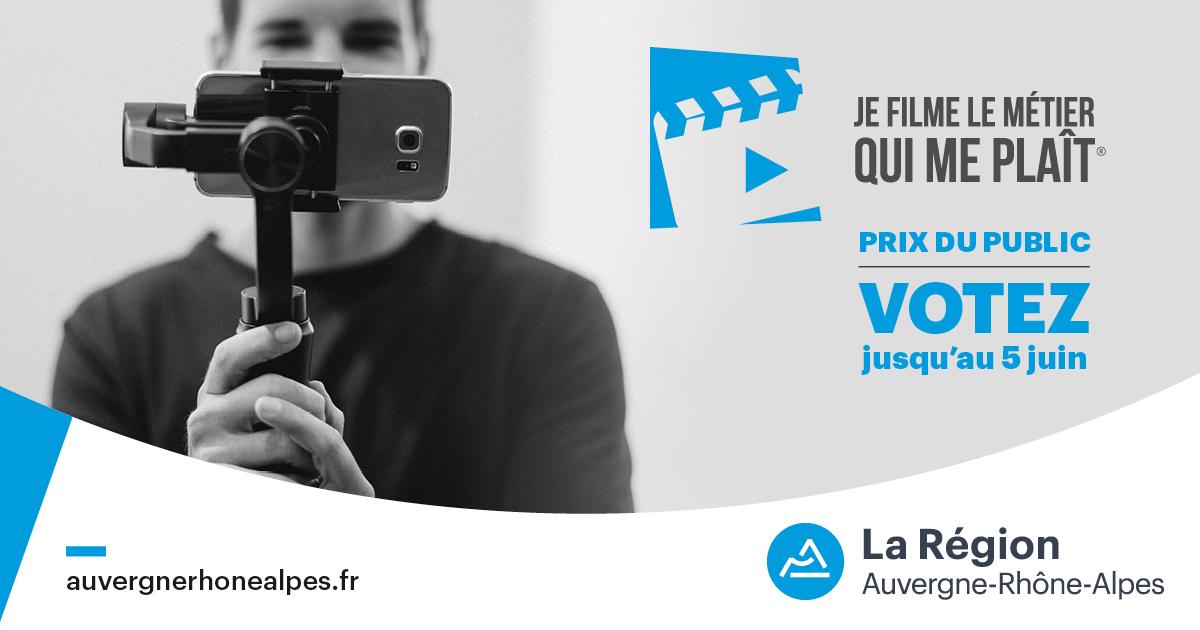 Concours Auvergne-Rhône-Alpes : JE FILME LE MÉTIER QUI ME PLAÎT