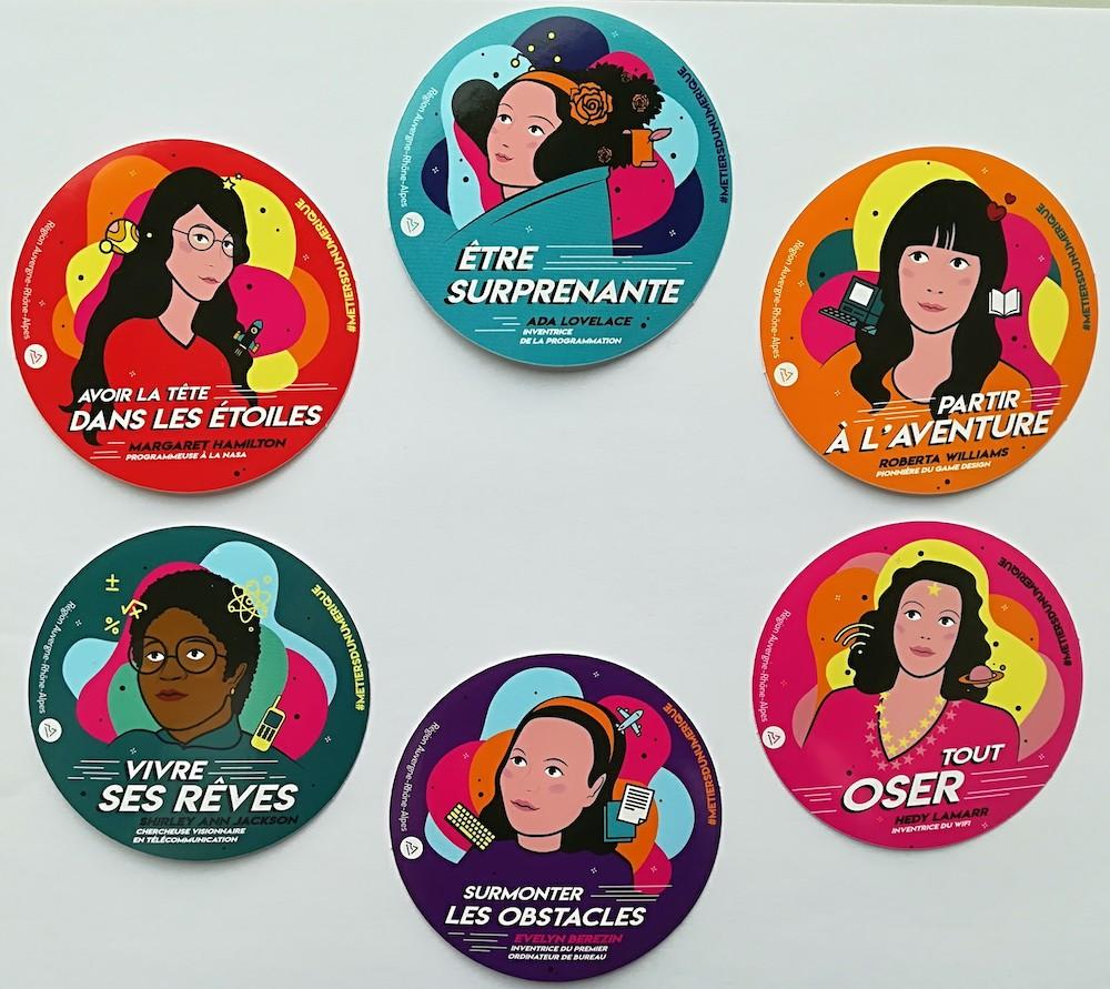 stickers mixité numerique