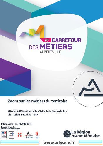 26e Carrefour des métiers d'Albertville : zoom sur les métiers de l'industrie !