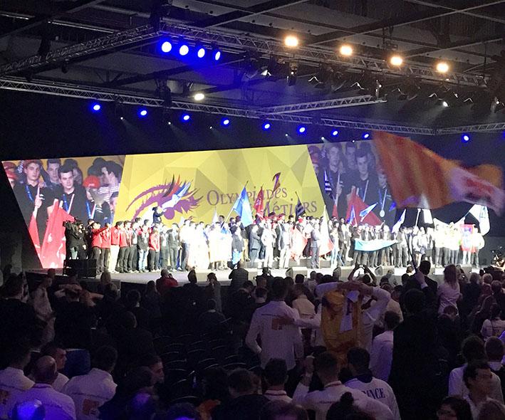 Ils font leur entrée en équipe de France des 44èmes Olympiades des Métiers !