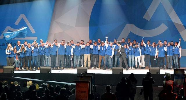Très belle moisson de médailles pour l'équipe Auvergne-Rhône-Alpes aux 44èmes Olympiades des Métiers !