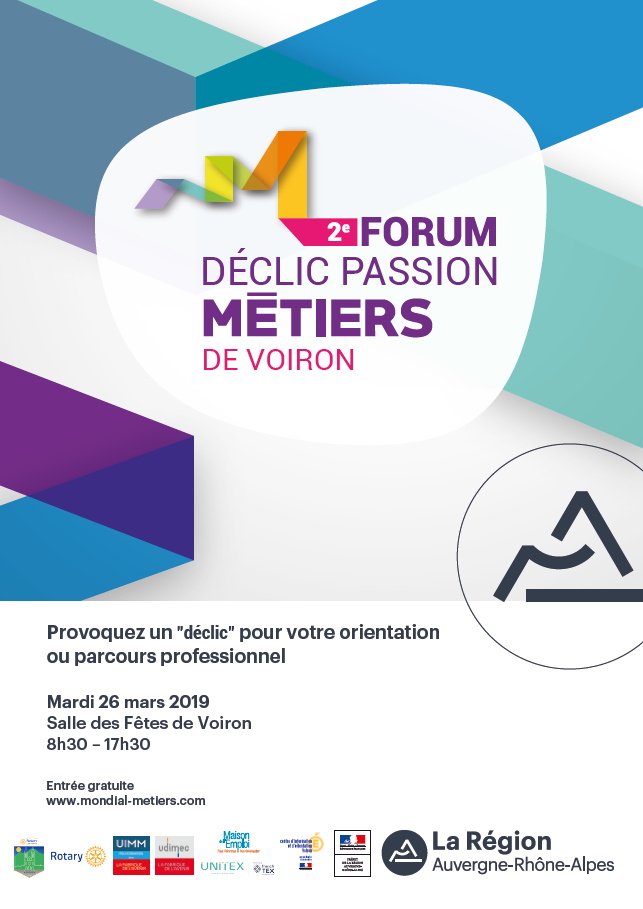 Forum DECLIC passion métiers - Voiron