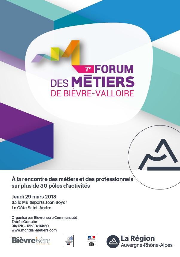 7e Forum des Métiers de Bièvre-Valloire