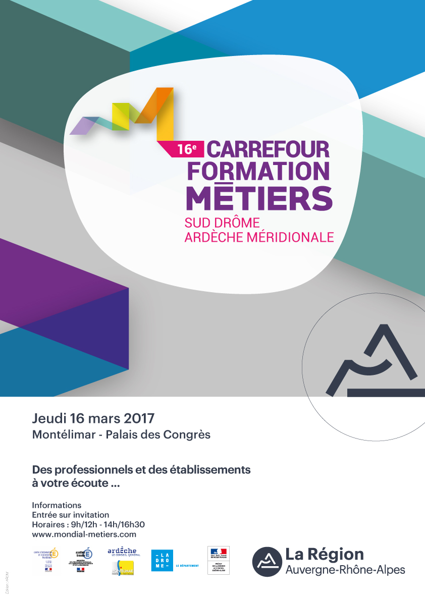 16ème Carrefour formation métiers de Montélimar