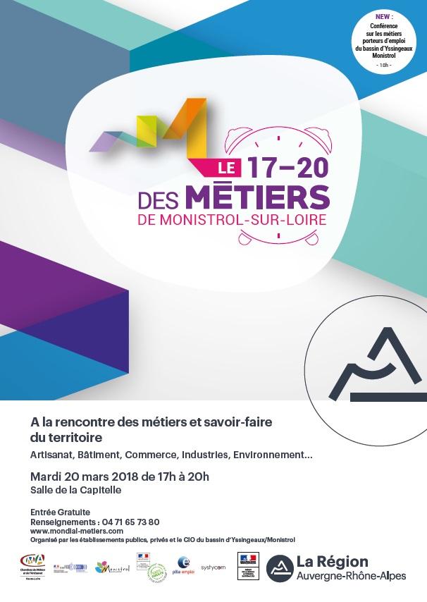Découvrez le 17-20 des Métiers de Monistrol-sur-Loire