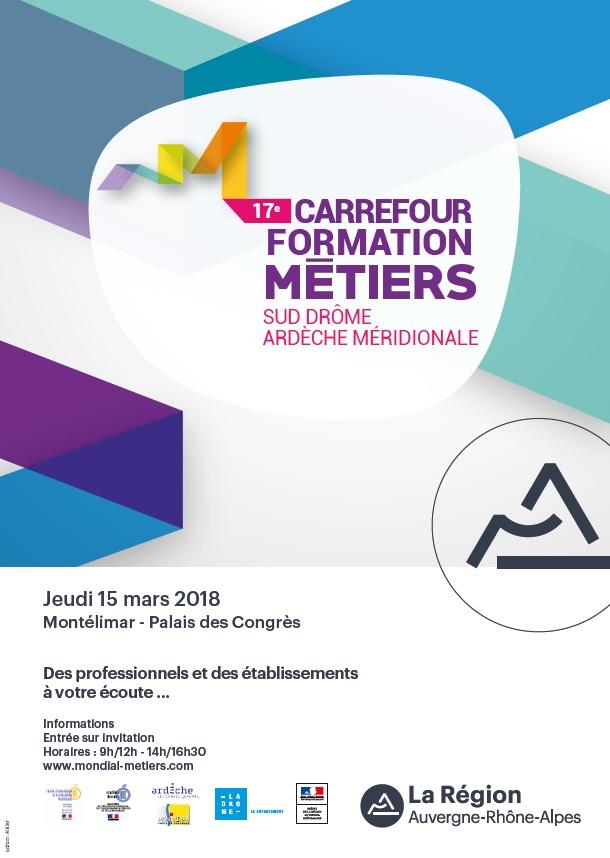 Carrefour Formation Métiers Sud-Drôme-Ardèche Méridionale 2019