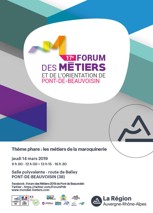 Les métiers de la maroquinerie et bien d'autres au cœur du forum de Pont de Beauvoisin !