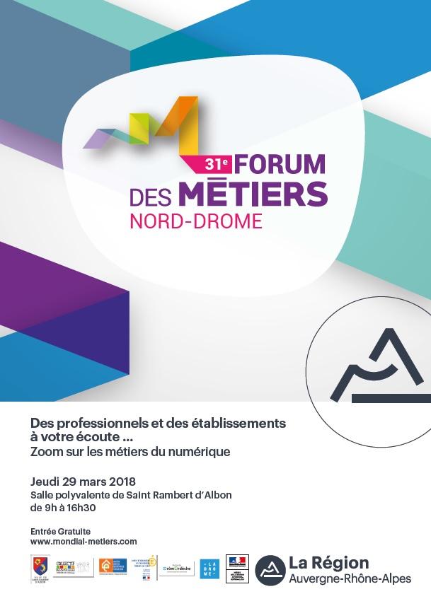 Zoom sur les métiers du numérique à Saint-Rambert-d'Albon