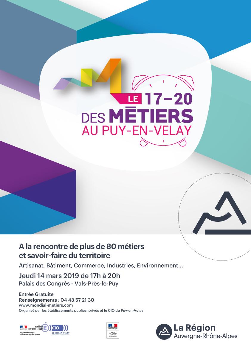 Zoom sur le 17-20 des métiers au Puy-en-Velay !