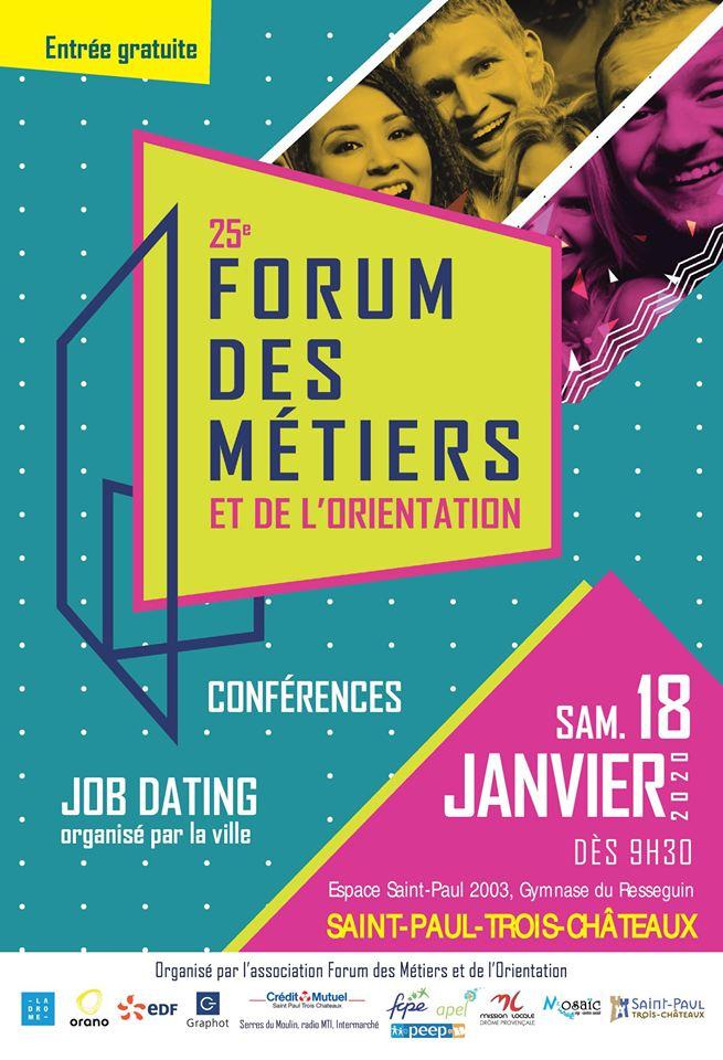 Forum des métiers et de l'orientation de Saint-Paul-Trois-Chateaux