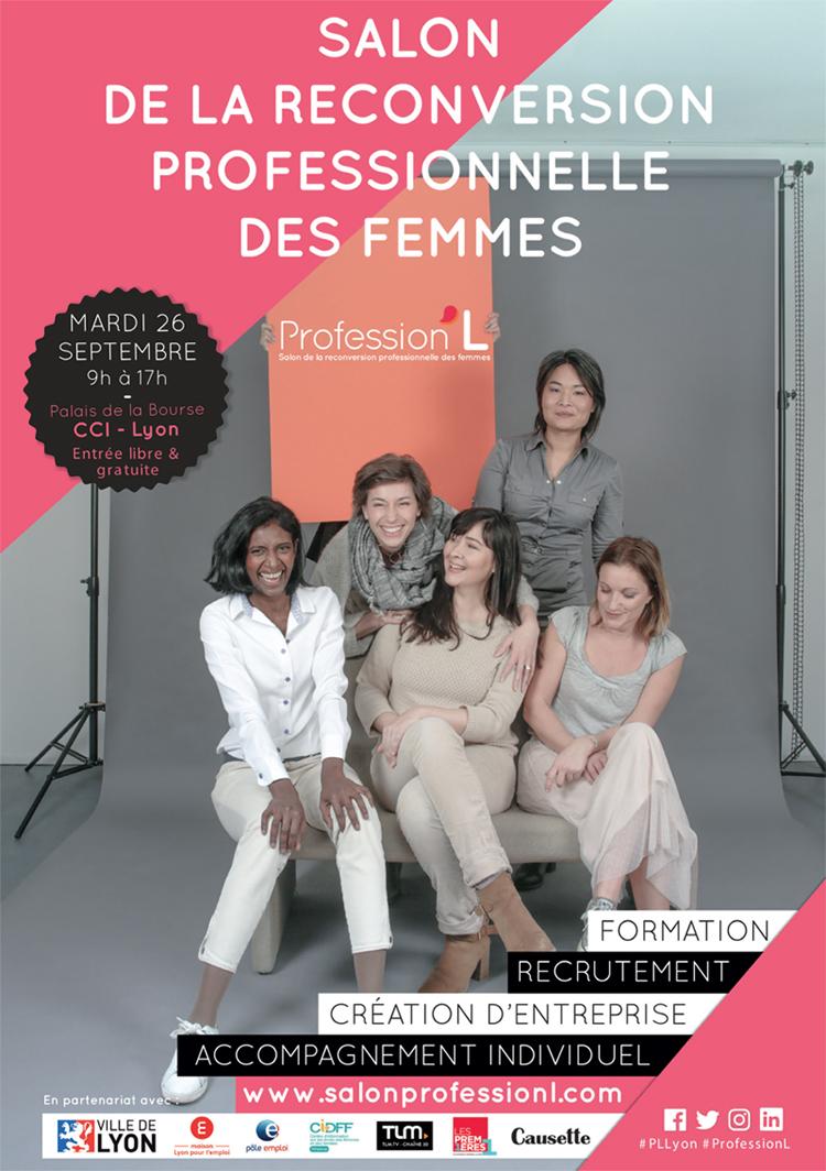 Salon de la reconversion professionnelle des femmes - Lyon