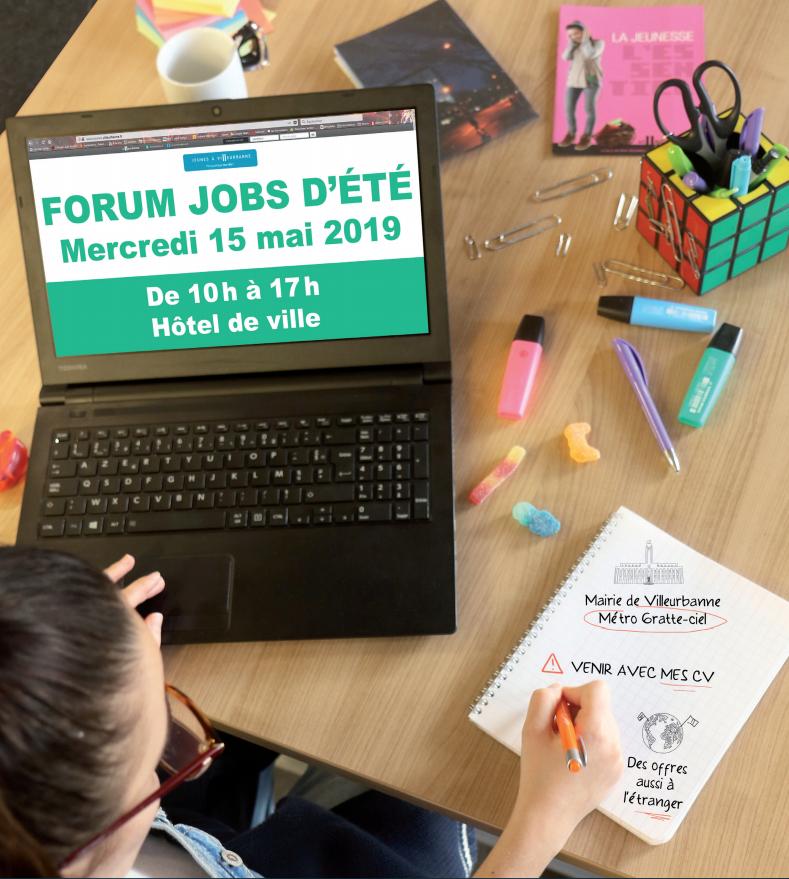 Forum Jobs d'été 2019 - Villeurbanne