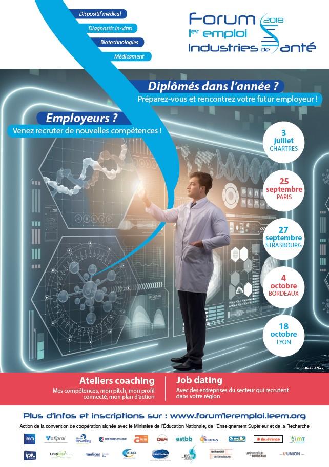 Forum 1er Emploi des Industries de Santé - Lyon