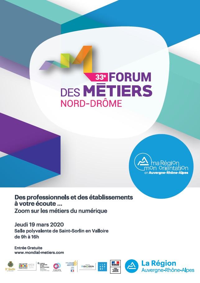 Forum des métiers et des formations du Nord Drôme - Saint-Sorlin en Valloire