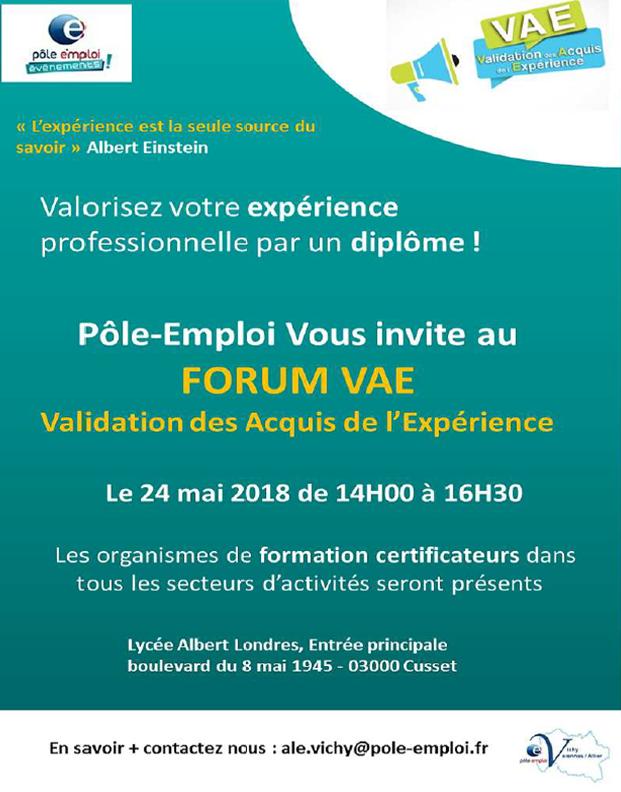 Forum VAE - Cusset (03)