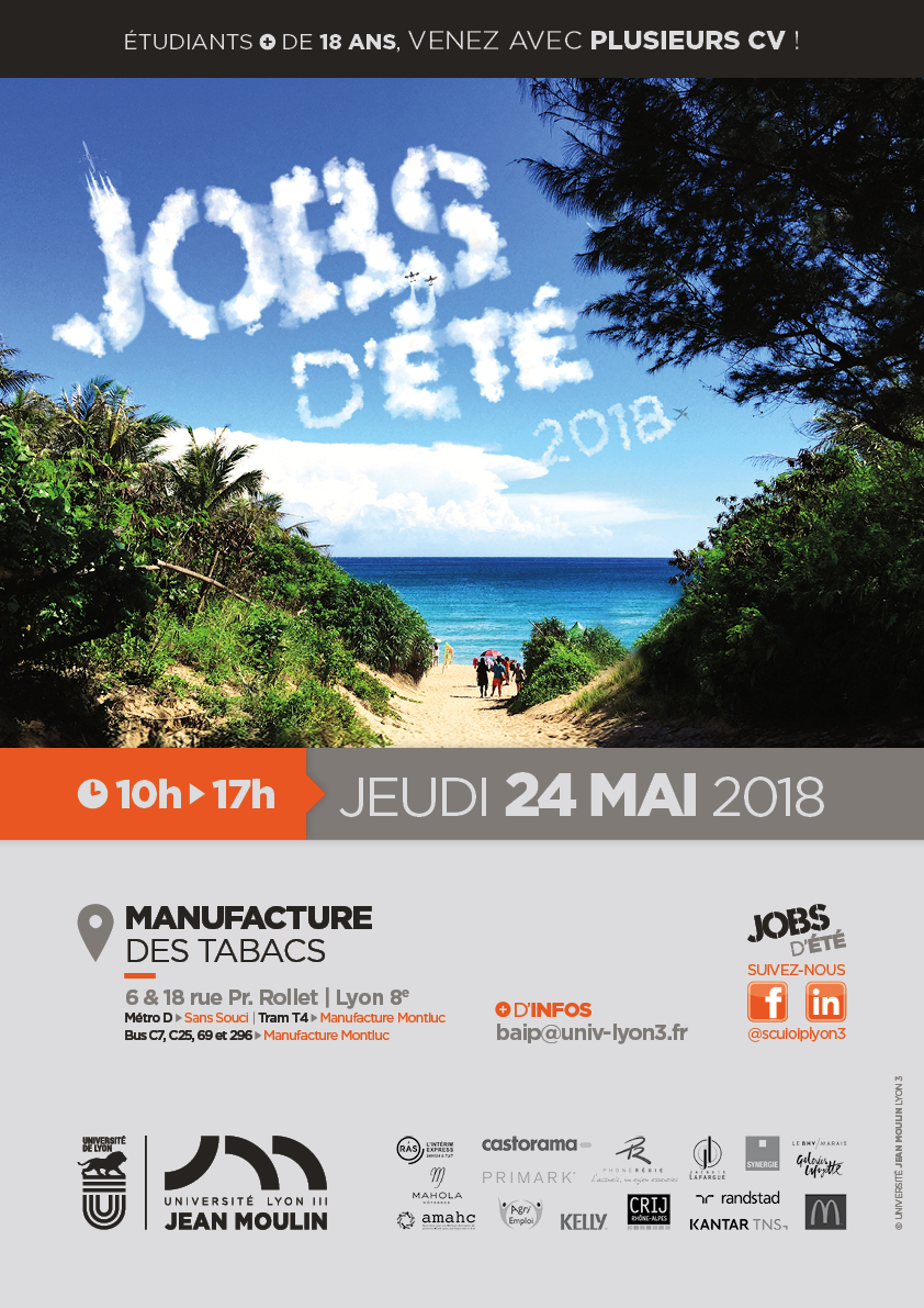 Forum jobs d'été - Lyon