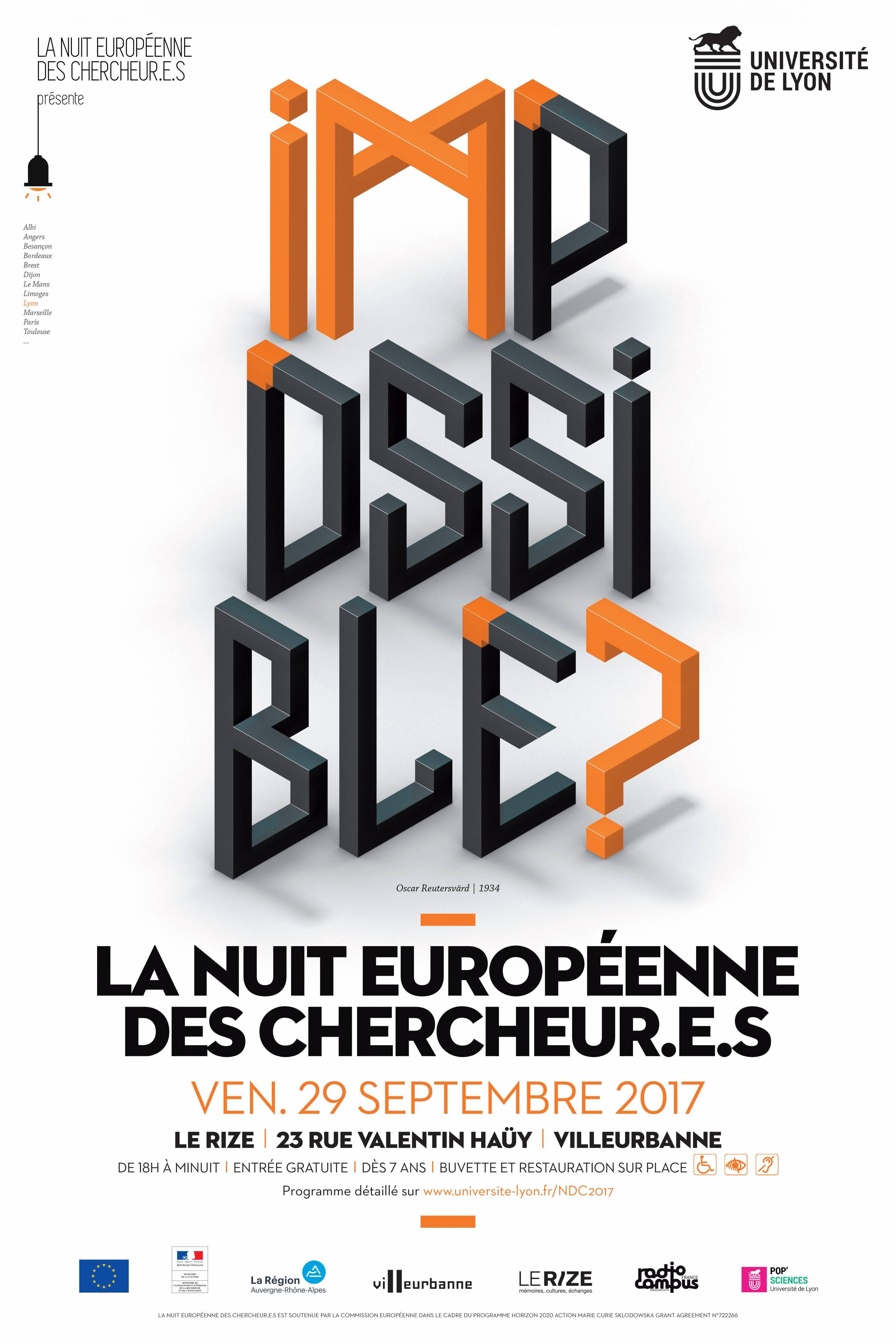 La nuit européenne des chercheur.e.s - Villeurbanne