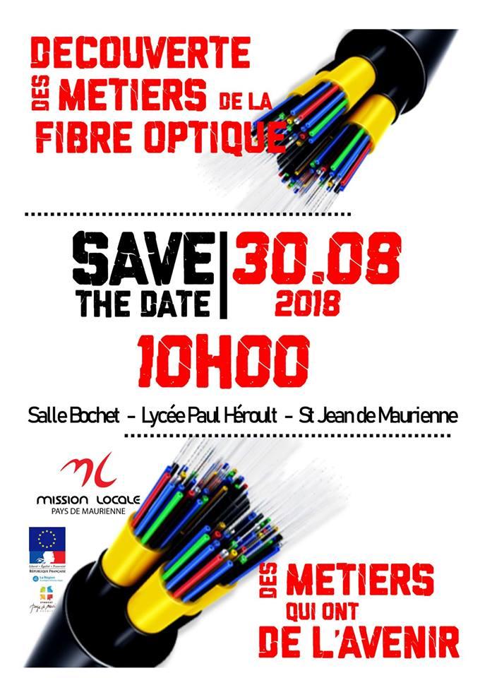 Découverte des métiers de la fibre optique - St Jean de Maurienne