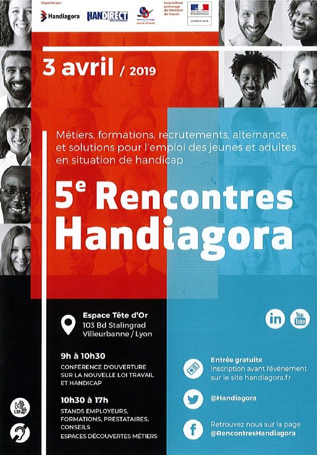 5e Rencontres Handiagora