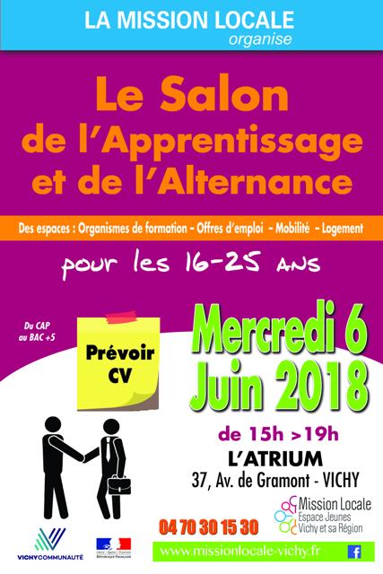 Salon de l'alternance et de l'apprentissage - Vichy (03)