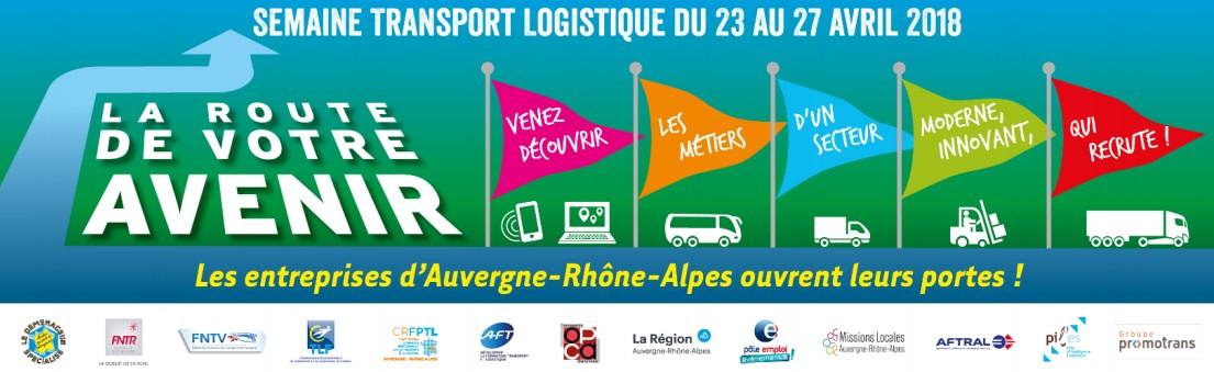 1ère semaine du Transport et de la Logistique Auvergne-Rhône-Alpes
